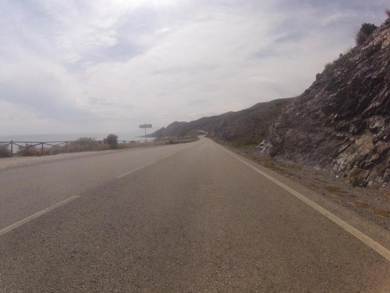 Küstentrasse nach Villaricos