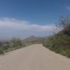 Abfahrt von der Sierra Cabrera