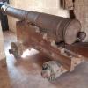 Kanone auf der Alcazaba