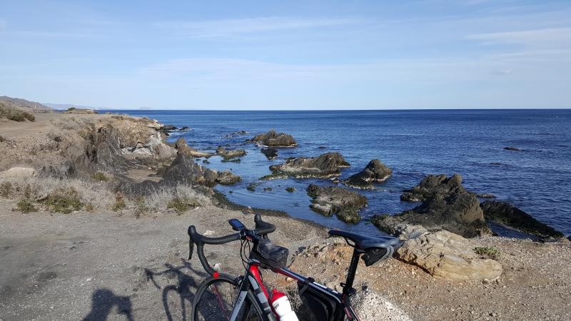 Meer und Rennrad