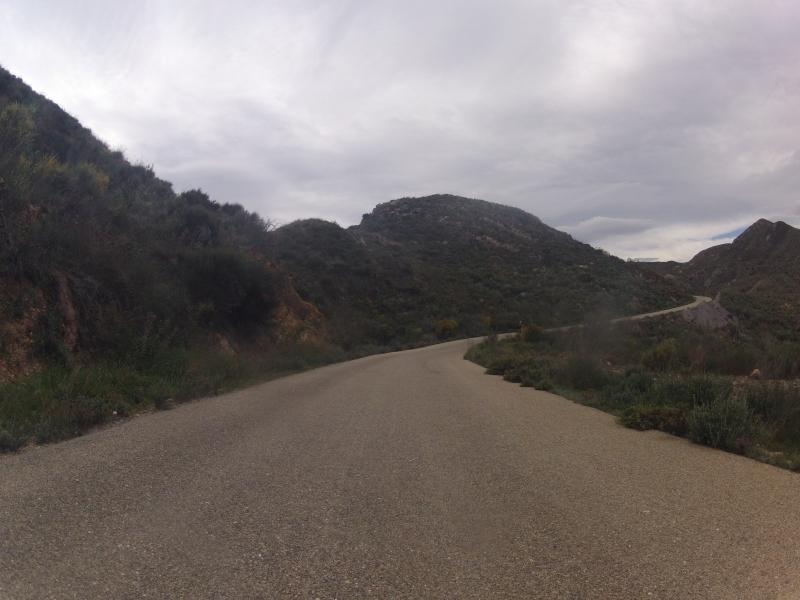 Passstrasse durch den wilden Westen