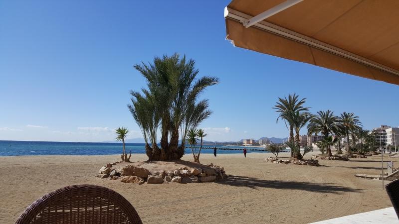 Strandpromenade in Aguilas