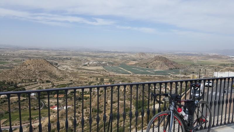 Aussicht von Mojacar Pueblo