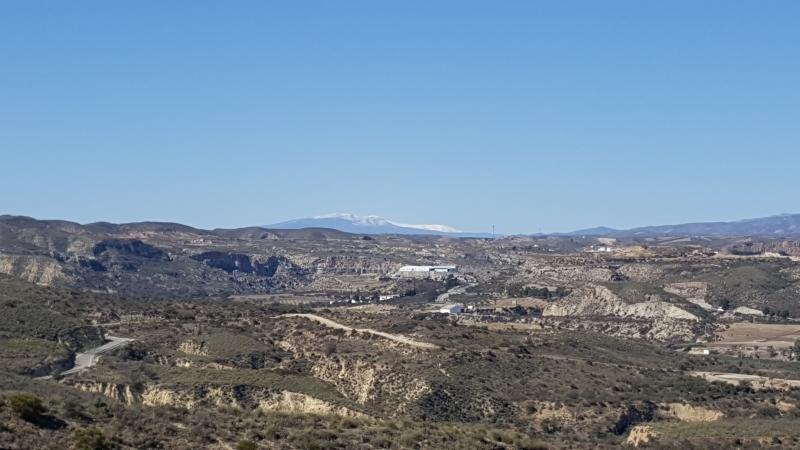 verschneite Sierra Nevada