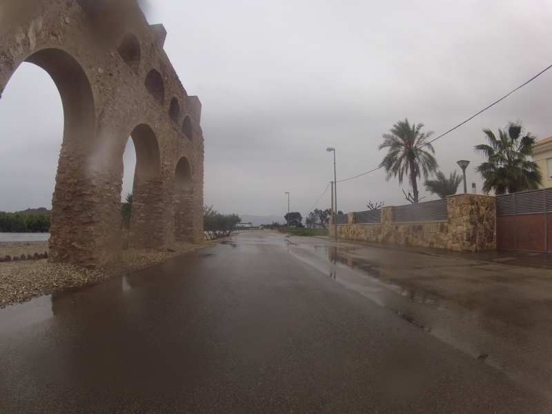 Regen in Andalusien
