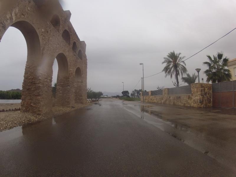 Regen in Andalusien