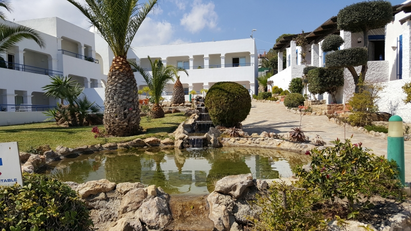 Teil der Hotelanlage El Puntazo
