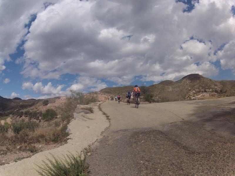 Durch die Sierra Cabrera hinauf