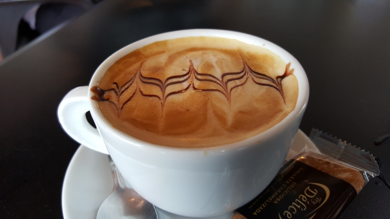 Kaffee zum Abschluss einer gelungenen Rundfahrt