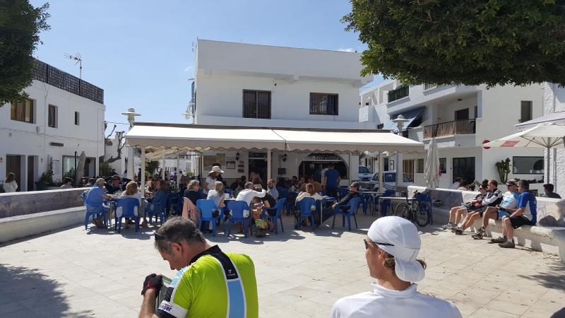 Dorfplatz in Agua Amarga