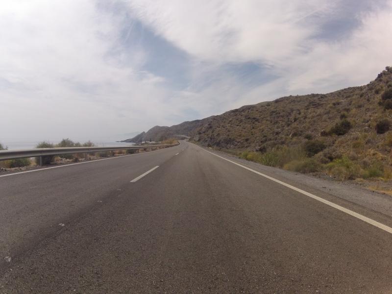 Küstenstrasse nach Villaricos