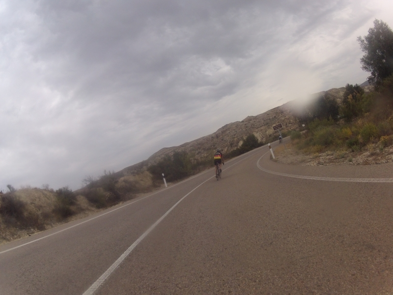 Abfahrt nach Los Molins Rio Aguas