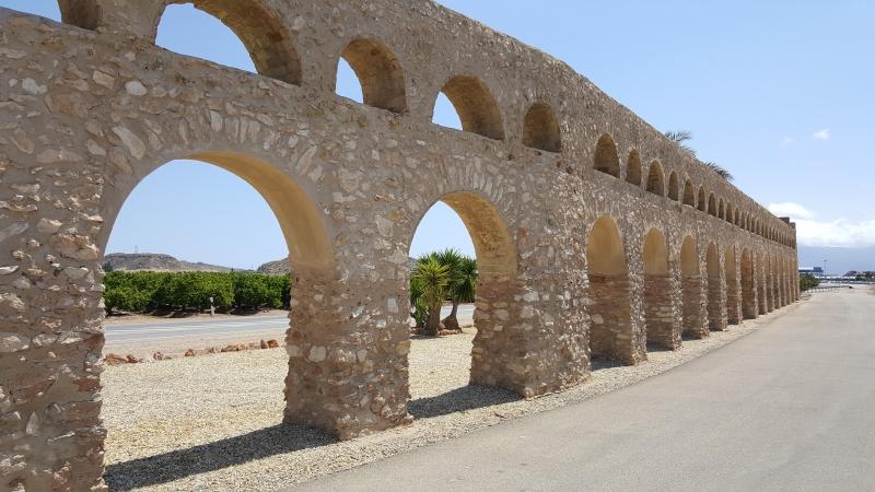 Aquaduct in der Nähe von Antas