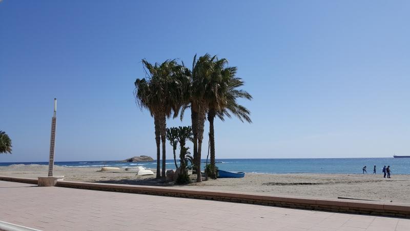 Am Strand von Carboneras