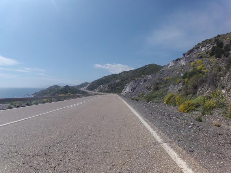 Küstenstrasse von San Juan nach Villaricos