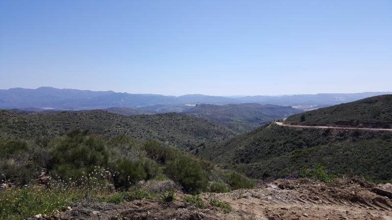 Blick über El Chieve