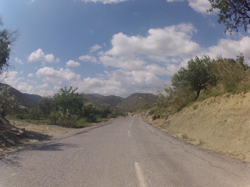 Talfahrt nach Arboleas