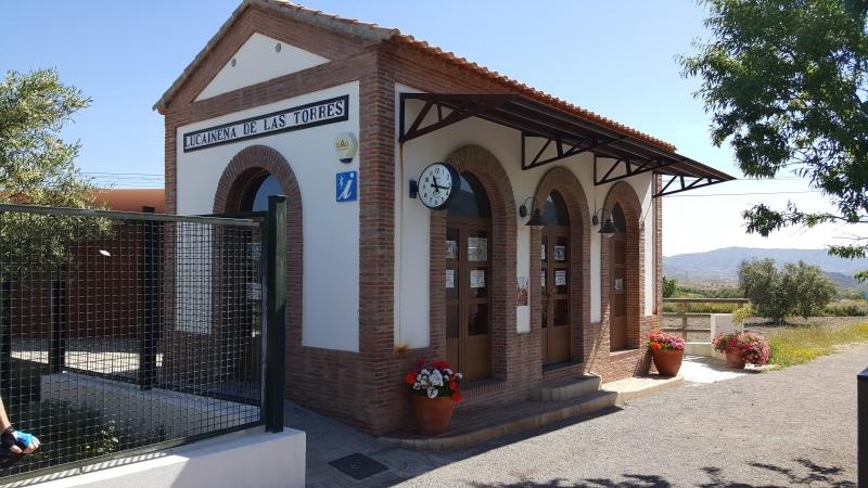 Bahnhof in der Via Verde