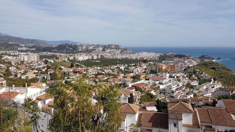 Blick nach Almuñécar