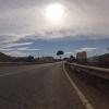Gegenlicht über Andalusien