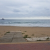 Das Meer stampft und schäumt