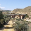 Brücke über den Rio Aguas