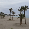 Palmenstrand vor Mojacar Playa
