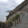 Sapazierweg in den Klippen