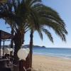 Am Strand von San Juan