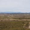 Ein Blick auf die verschneite Sierra Nevada