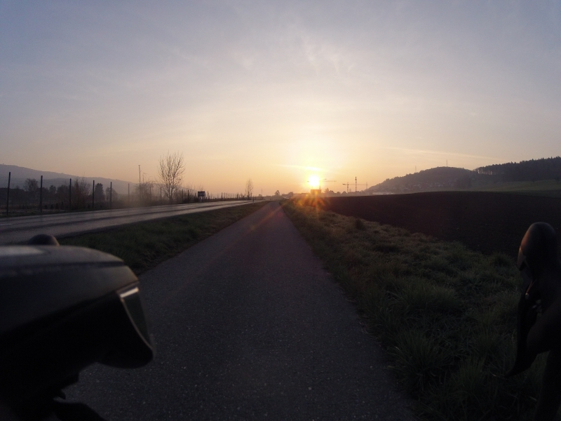 Morgensonne im Furttal