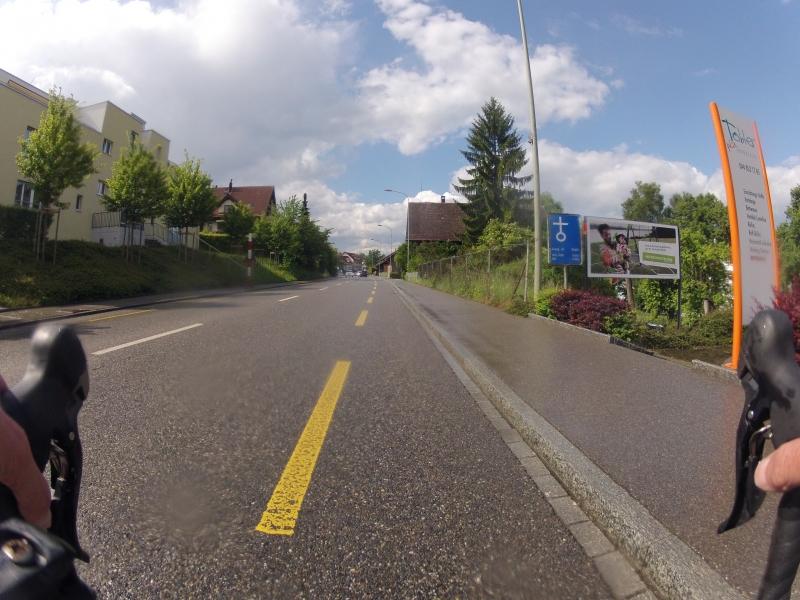 Dielsdorf nach dem Regen