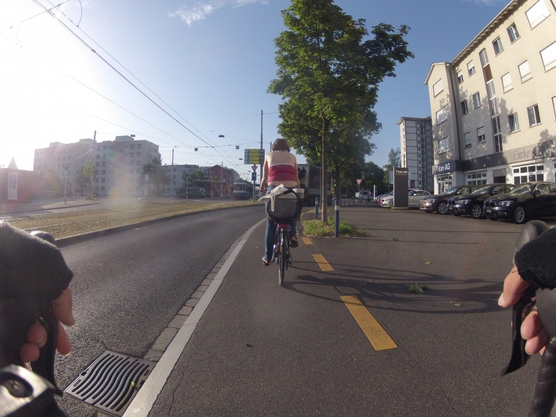 Vielleicht doch eine Biketoworkerin