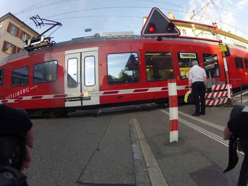 Bahnübergang Uetlibergbahn