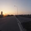 Sonnenuntergang in Regensdorf, Watt