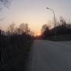 Sonnenuntergang im Höhtal