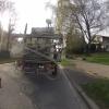 Traktor unterwegs