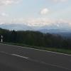 Ein Blick zu den Alpen
