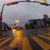Regenglanz auf der Strasse