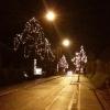 Weihnachtsbeleuchtung in Buchs / Zürich