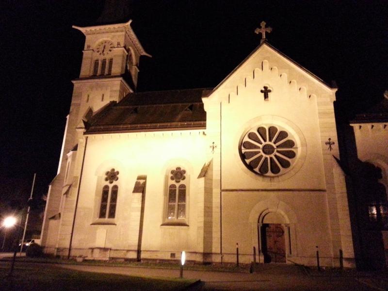 Die Kirche von Neuenhof