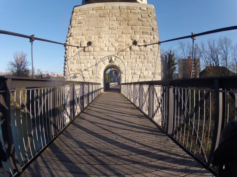 Hängebrücke Umiken - Brugg
