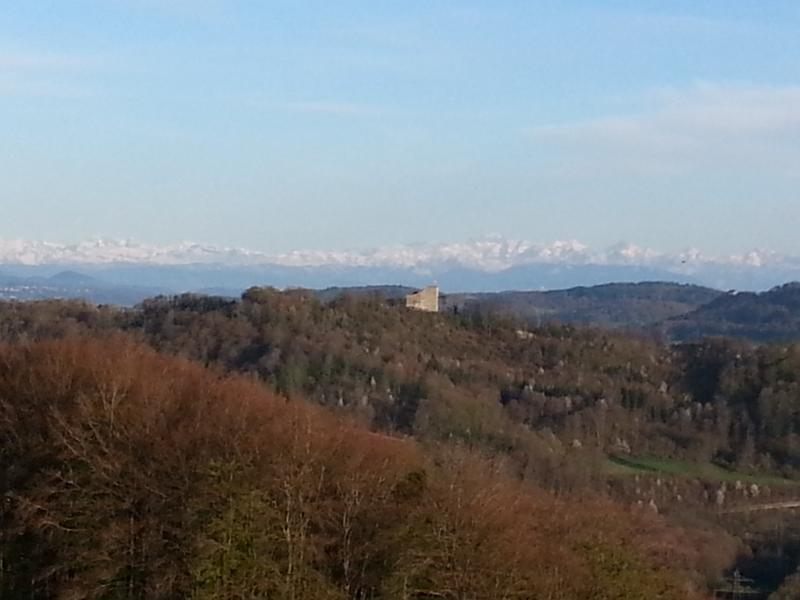 Habsburg und Alpenkamm
