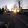 Sonnenaufgang in Oerlikon