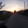 Sonnenuntergang oberhalb Endingen