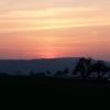 Sonnenuntergang oberhalb Würenlingen
