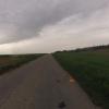 Regenwolken über dem Heimweg