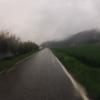 Regen unterwegs