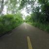 Radweg im Grünen