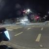 nächtliche Bushaltestelle in Neuenhof
